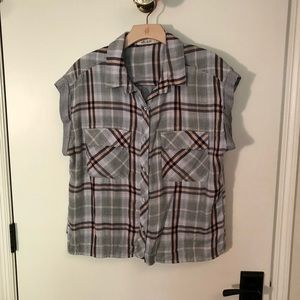 Bella Dahl cropped shirt L